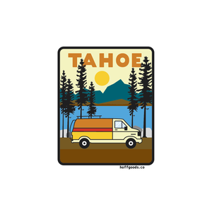 Tahoe Van Sticker