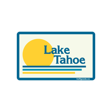 Lake Tahoe Vintage Sticker