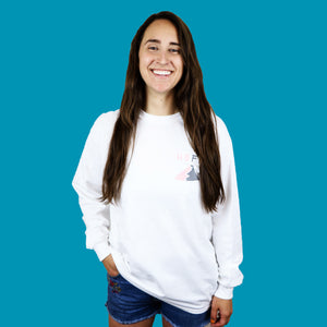 HOFF Mountain White Long Sleeve