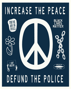 Increase the Peace Sticker
