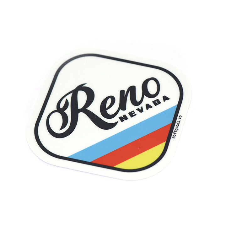 Reno Badge Sticker