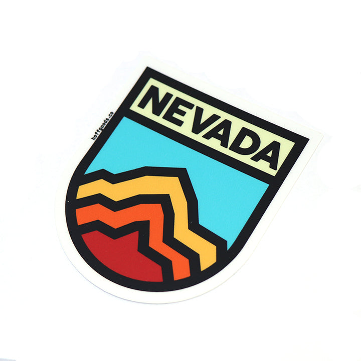 Retro Nevada Sticker
