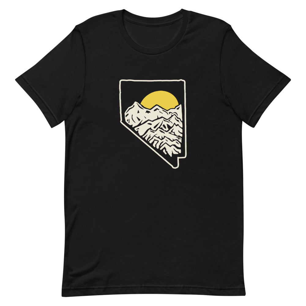 NV Mountains Unisex Soft Tee