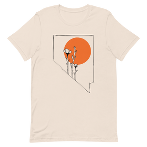 Nevada Wildflower Soft Tee