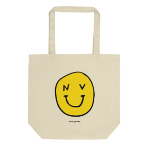 NV SMILEY TOTE