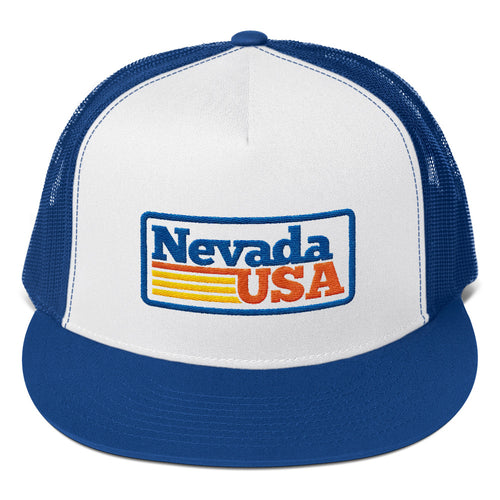 Nevada USA Trucker Cap