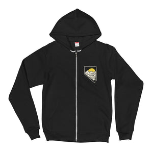 NV Mountains Zip Up Hoodie
