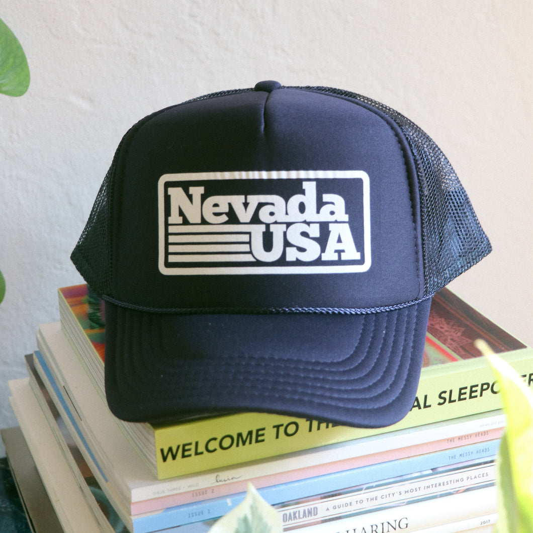 Nevada USA Trucker Hat