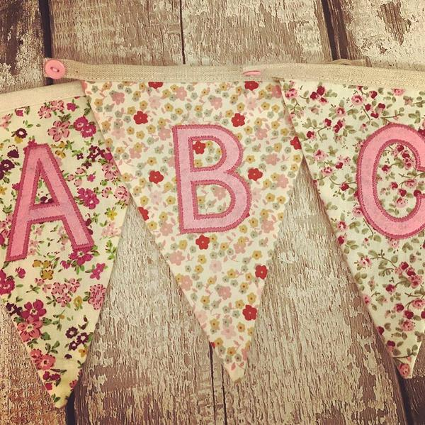 A to Z Personalised Bunting