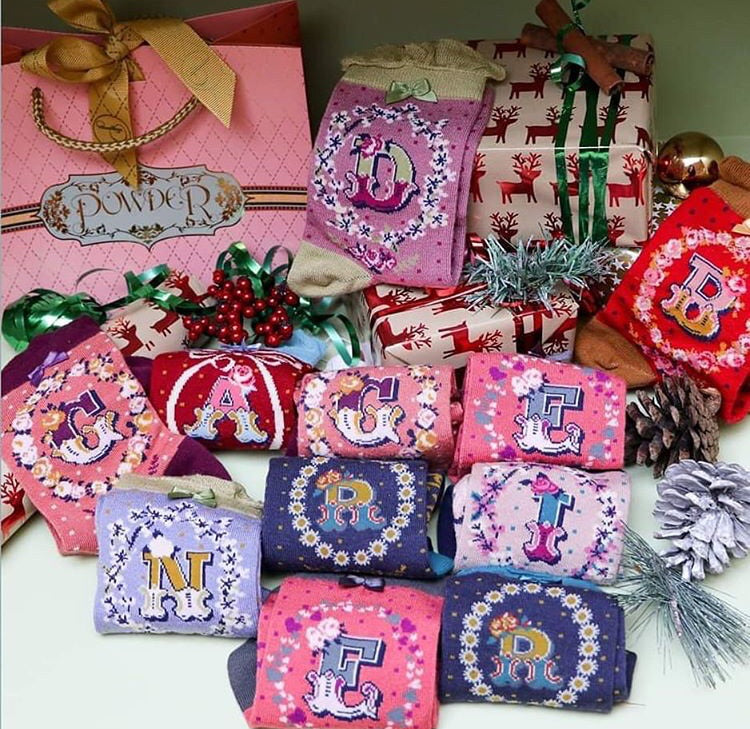 Powder A-Z Ladies Socks and Gifts