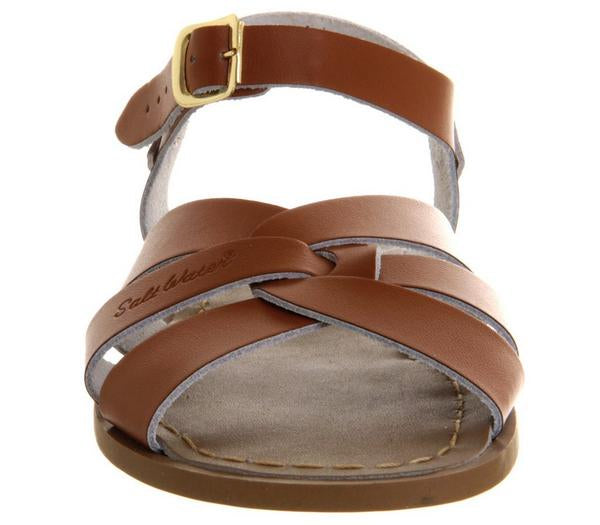 SaltWater original, saltwaters, navy SaltWater sandal, Youth, Child, adult, Sandals original tan