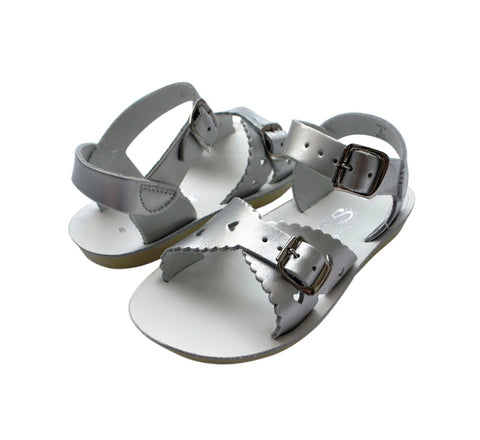 Saltwater Sandals Sweetheart - Silver