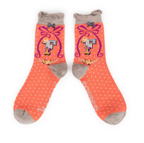 Powder 'A-Z' Ladies Socks