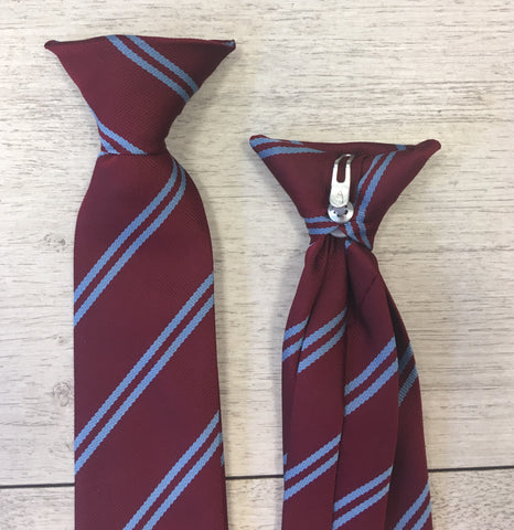 St. Coleman's Primary School Clip On Tie