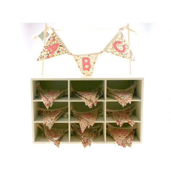Bunting Girls Floral A-Z