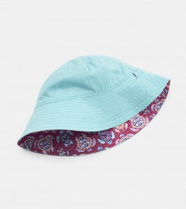 Hatley Baby girl 'sea turtles' reversible sun hat