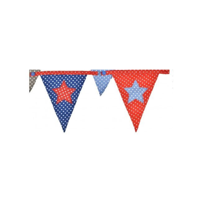 Bunting Boys Dotty Star flag