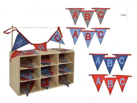 Bunting Boys Dotty A-Z