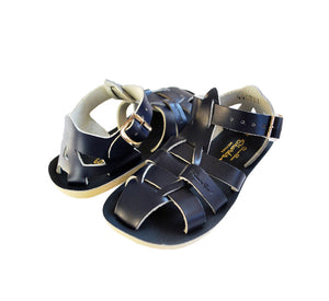 Saltwater Sandals Shark - Navy
