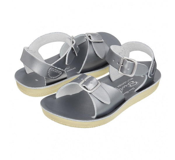 SaltWater Salt-Water salt water SaltWater Sandals Sandels Pewter Youth Child Adult