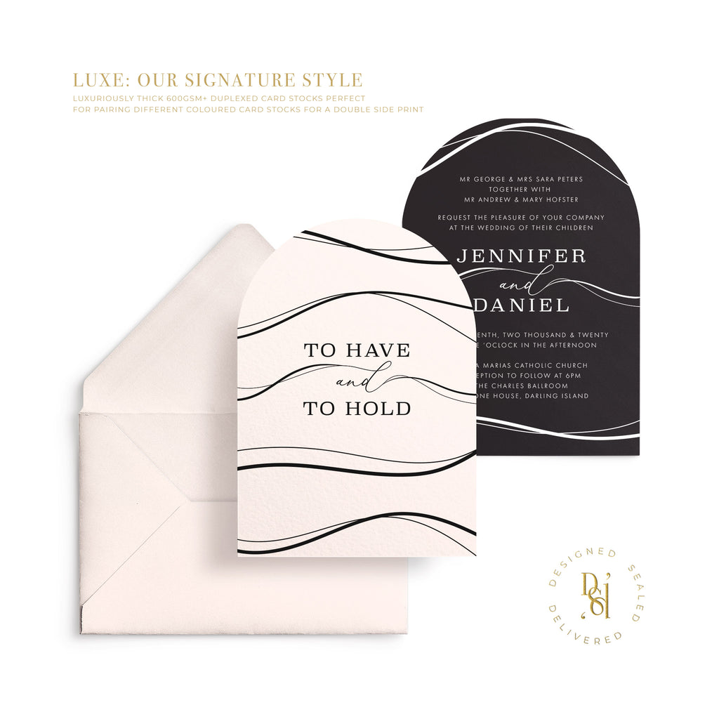 ZEPHYR Signature Luxe Invitation