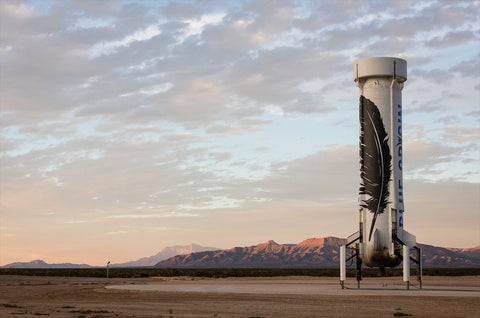 new shepard rocket. credit: blue origin
