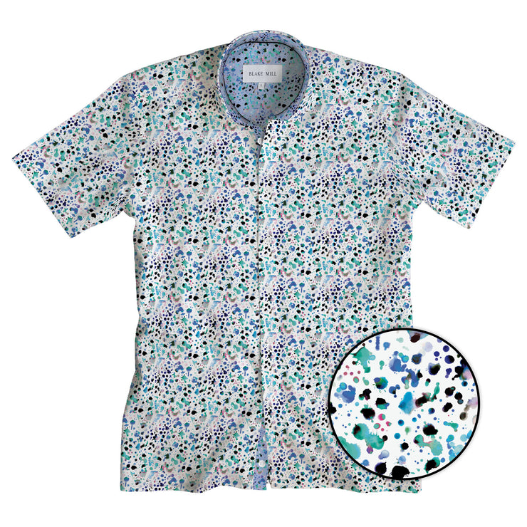 Watercolour Short Sleeve Shirt