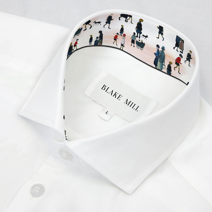 White with Lowry Accents Shirt