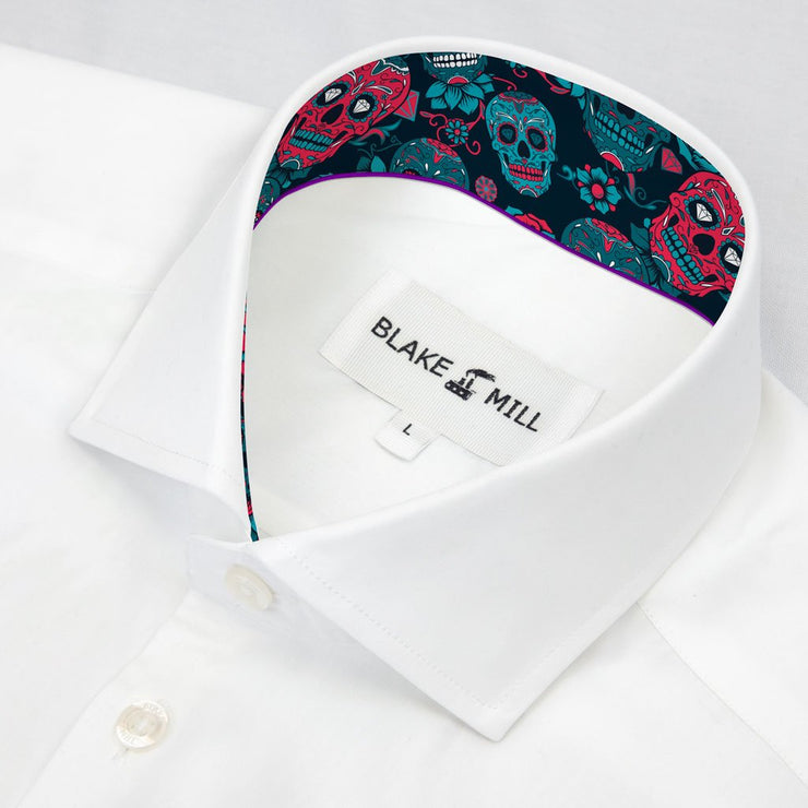 White with Skulls (The Sequel) Accents Shirt