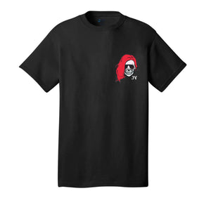 VALENTINE SKELE FULL BLACK TEE
