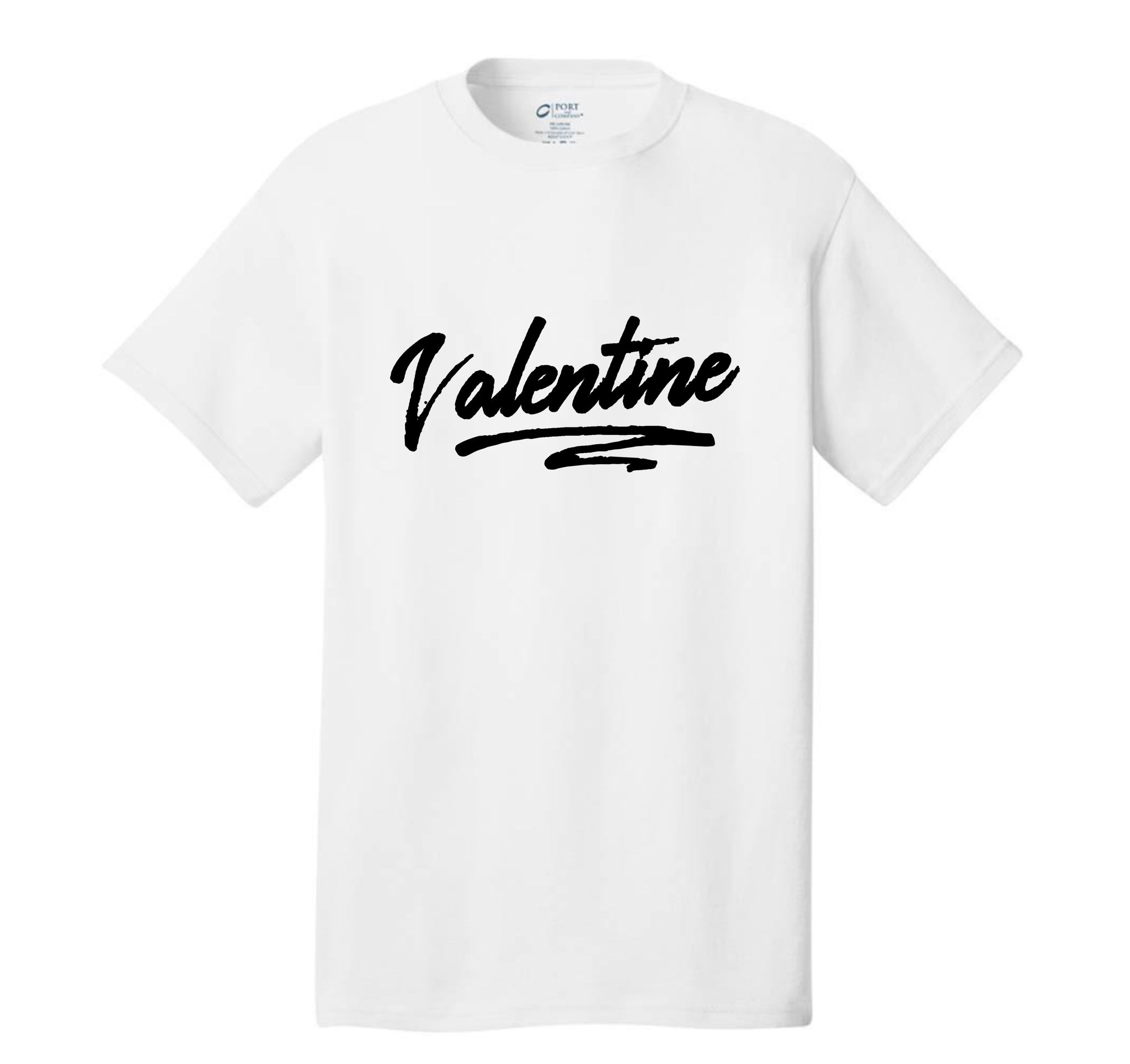 VALENTINE FULL BLACK TEE