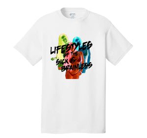 LIFESTYLES INVERTED T-SHIRT