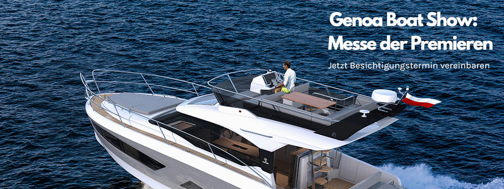 Messe der Weltpremieren: Genoa International Boat Show 2020