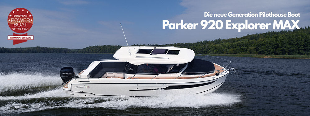 Parker 920 Explorer MAX - Die neue Generation Pilothouse Boot