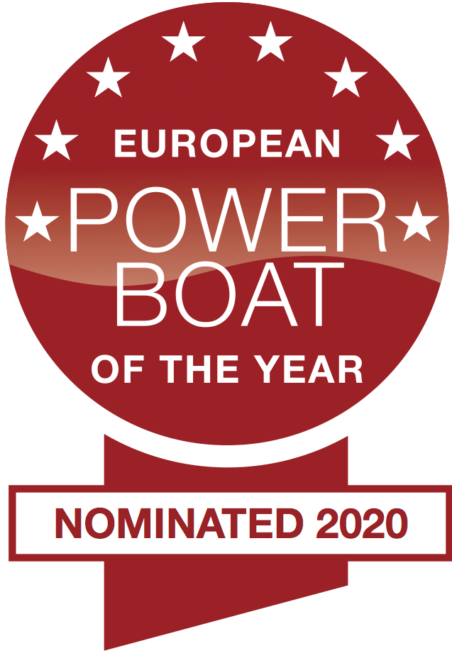 Nominierung zum European Power Boat of the Year 2020