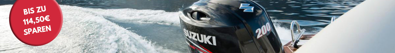 Suzuki Aktionsmotoren bei Inter Yacht West