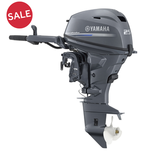 Sale Yamaha F25G MH/WH | Inter Yacht West