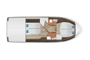 Delphia Escape 1150 Skizze 2 von Inter Yacht West