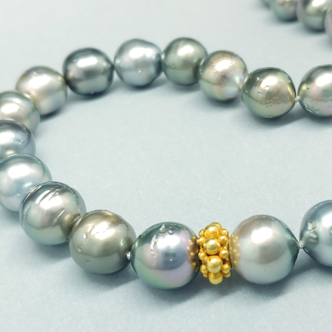 South Sea & 22KY Pearl Strand by Judy Knose