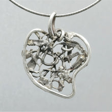 SOLD Obtuse Heart Sterling Pendant