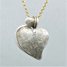SOLD Stronghold Heart Sterling 14KY Pendant