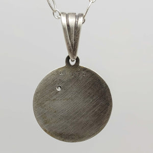 Lake Pepin Diamond Sterling Pendant by Murphy Design