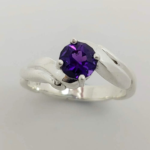 Amethyst and Sterling Ring both by Andy Olive