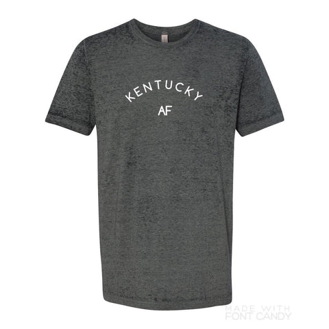 kentucky af tee - Black acid wash