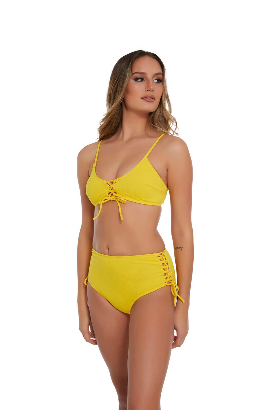 Charlie Two Piece in Yellow
