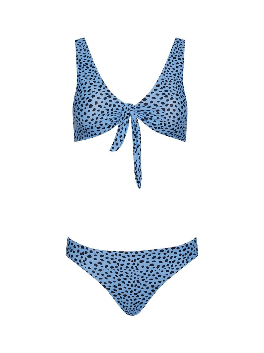 Georgia Two Piece Bikini in Blue