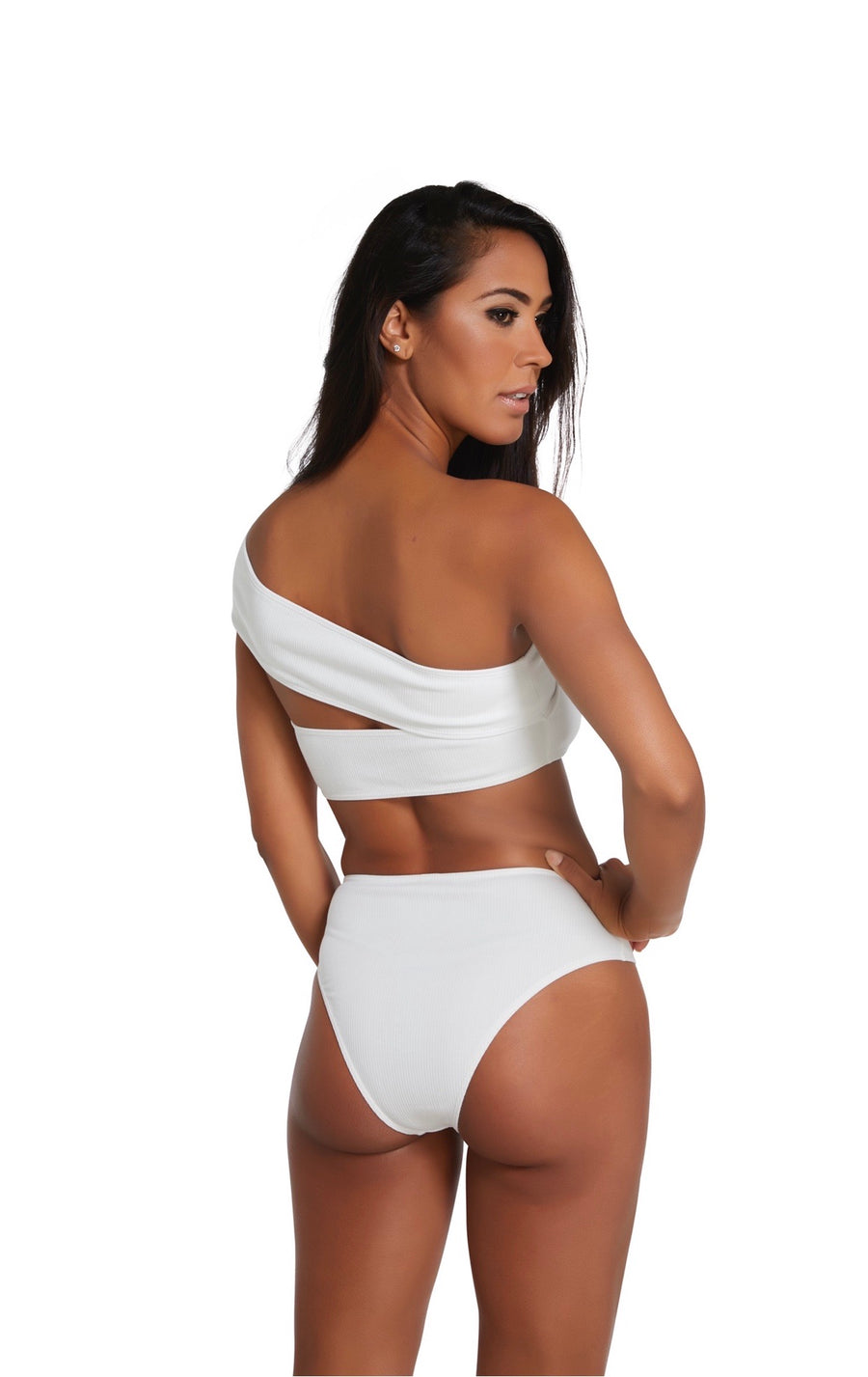 Mia Bottom in White