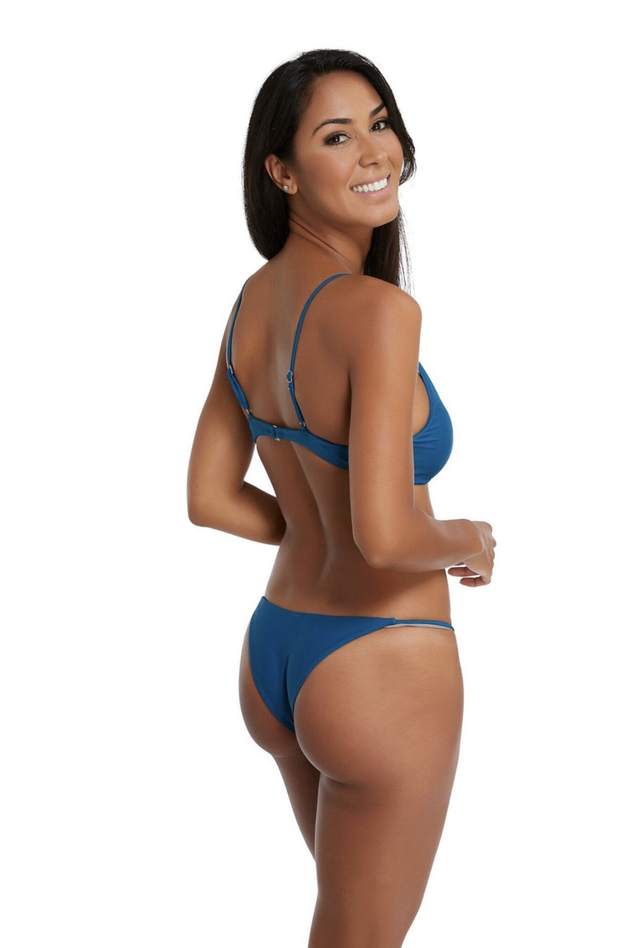 Alex Two Piece Bikini in Pacific Blue