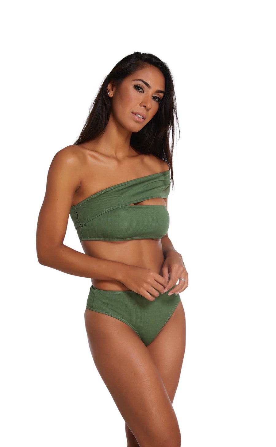Mia Two Piece in Green