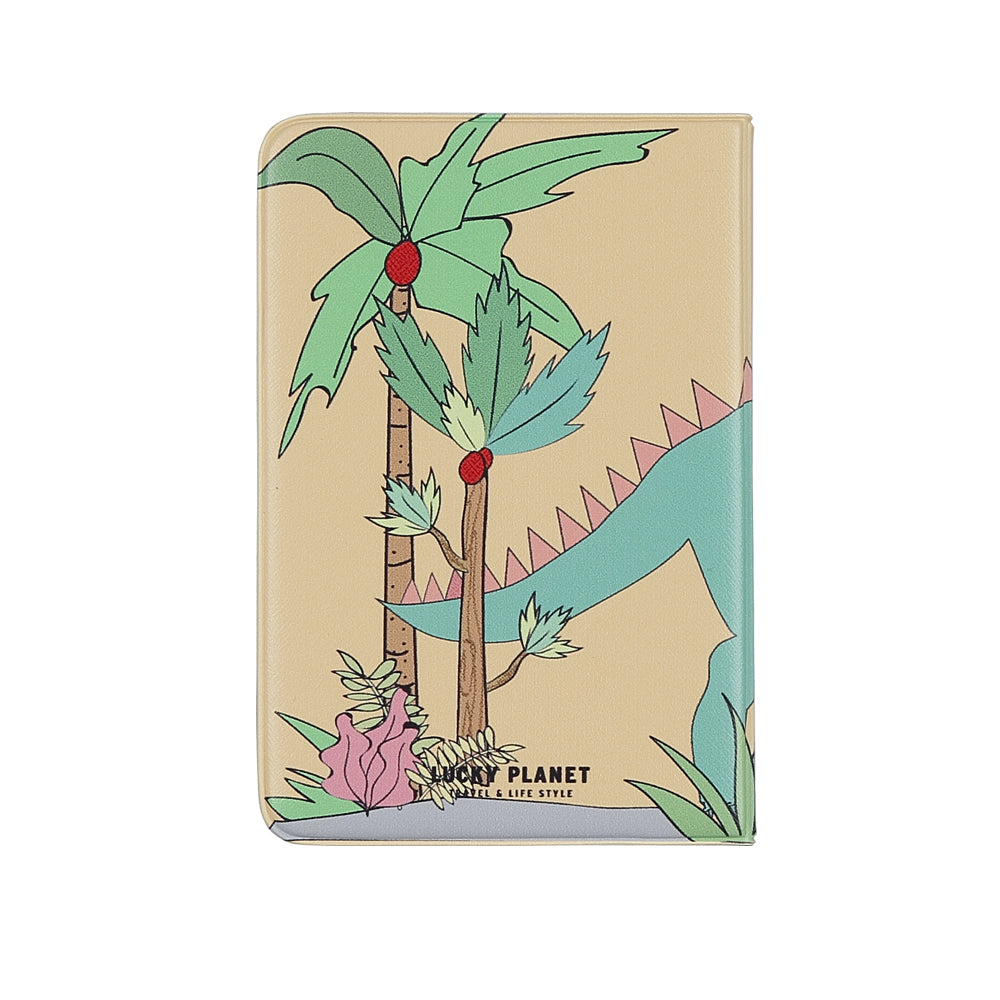 [Lucky Planet] My Pet Dino Passport Holder Cover Case